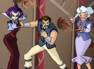 Griffin, Codatorta and Faragonda