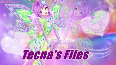 Winx Club Wiki - Tecna's Files