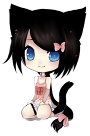 Anime Chibi Cat