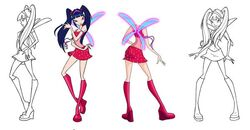 Musa - Magic Winx - Long Hair - Concept Art