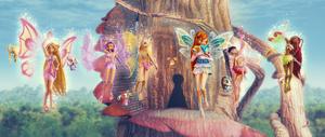 Polvo de hadas Mini Winx 3D
