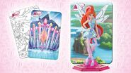 Winx Magic Travel + Bloom Tynix + Stand