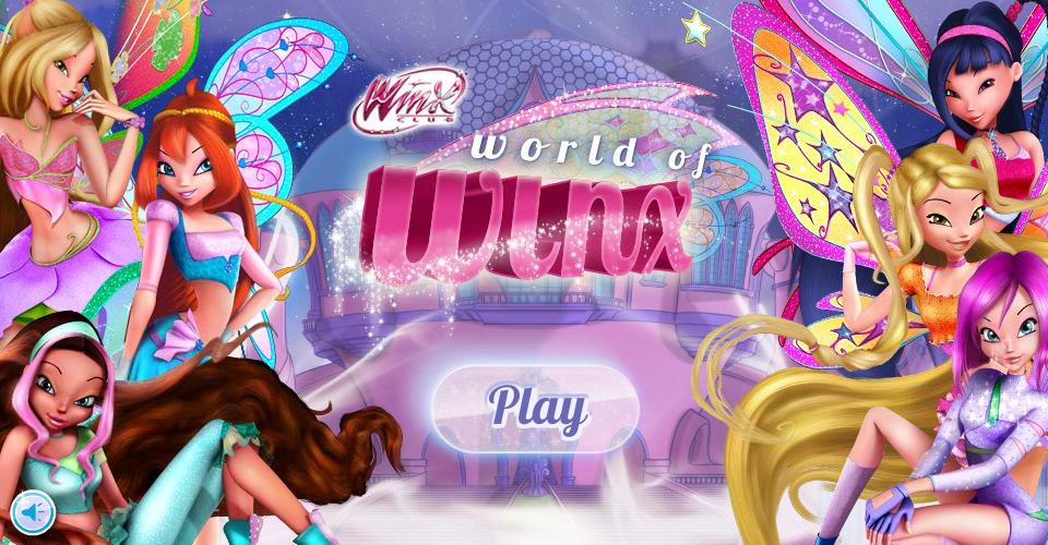 Игры для девочек винкс в картинках