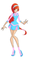 Winx bloom retro alfea casual by enchantingunixfairy-d8k49qc