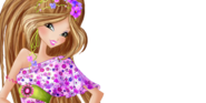 Winx club flora caribbean fairy couture by ineswinxeditions-d8l7kdj