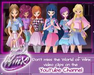 Winx Club Facebook - World of Winx Clip Promotion