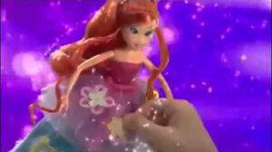 Winx Club Flower Princess dolls Commercial