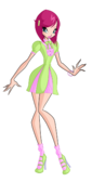 Winx tecna retro alfea casual by enchantingunixfairy-d8lizm5
