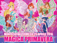Winx Club - Performace at Montecatinin Terme (Spring Magic)