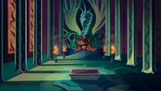 Darkar's throne room