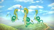 Grüne Drachen der Chinesischen Mauer 05