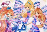 Bloom, Stella und Flora Sirenix Promo Staffel 8 01