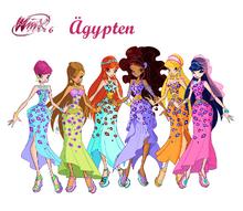 Staffel 6 Outfit Ägypten Concept Art