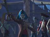 Zombie-Piraten