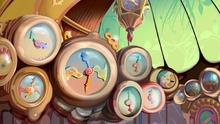 Magisches Uhrzimmer