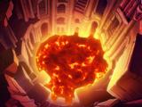 Strudel der Flammen
