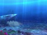 Haifisch-Augen Fels