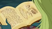 Legendariumsseite des Magischen Spiegels 01