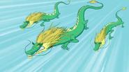 Grüne Drachen der Chinesischen Mauer 02