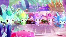 Существа из мини мира Драгоценных камней 7х15 (1)