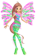 Flora sirenix by winx rainbow love