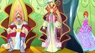 Rey oritel, reina marion y princesa bloom de domino