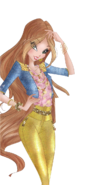 World of winx flora couture png