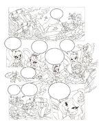 Флора концепт из 105 комикса