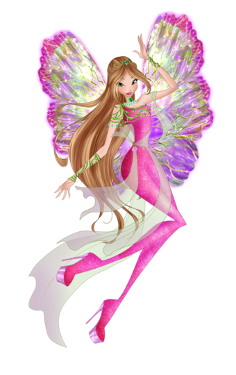 винкс флора winx flora Sticker by sadstexla | 540x340
