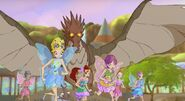 Linphea fairies running