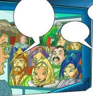 Родители Диаспро в комиксах
