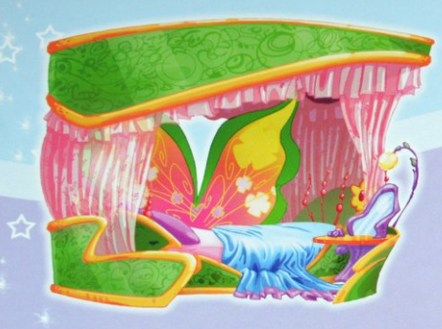 Кровать Флоры на Земле