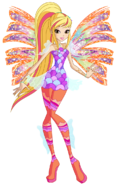 Stella sirenix by winx rainbow love