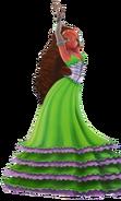 Aisha in dress 3d by roxybello-d38d47j1