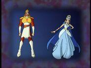 Родители Стеллы - Радиус и Луна