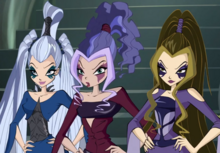 The Trix from Winx Club Season 6