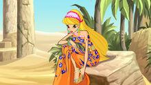 Стелла в Египте