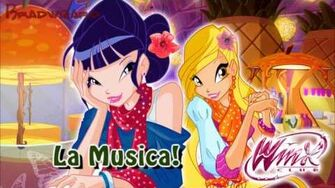 Winx Club 5 La Musica! Italian Italiano