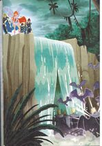 Водопад на Домино