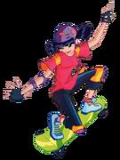 Муза на скейте