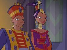 Король и королева Ромулеи