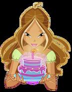 Флора с тортиком