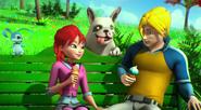 Блум, Скай и собачка