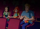 Блум и её родители в кино