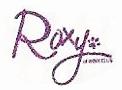 Рокси подпись