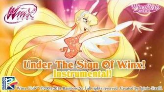 Winx Club - Under The Sign Of Winx! INSTRUMENTAL HD!