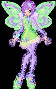 Tecna tynix 2d by winx rainbow love-d9cks6s