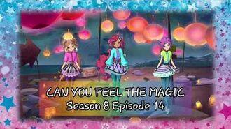"""Winx Club - S08E14 - Song """"Can You Feel The Magic"""" (English Vietnamese SeeTV-SCTV3)"""