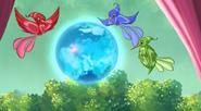 Райская бухта на глобусе