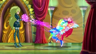 Selina Attacks Bloom